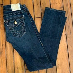 True Religion blue jeans
